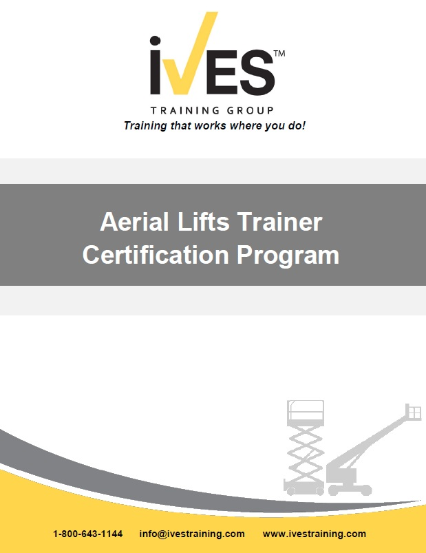 Aerial lift certification form boom supported aerial lift for Scissor lift certification card