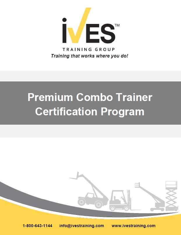 Premium Combo Trainer Certification Ives Training Group