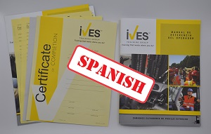 Narrow Aisle Forklift Compliance Package Spanish