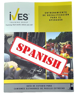 Narrow Aisle Forklift Study Guide Spanish
