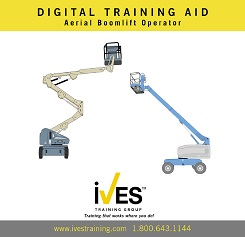 Aerial Boomlift Trainer Power Pack Digital Training Aid