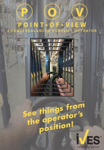 Point of View Counterbalanced Forklift DVD