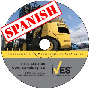 Intro to Counterbalanced Forklifts Spanish DVD