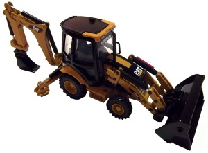 CAT 420E Backhoe Loader Model