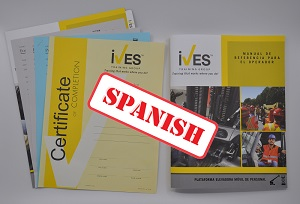 Aerial Lifts Compliance Package Spanish image