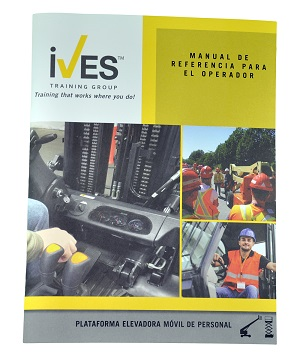 Aerial Lifts Compliance Package Spanish Certificate