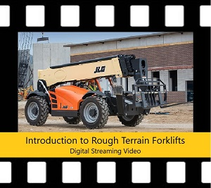 Rough Terrain Forklift Trainer Power Pack DVD Intro