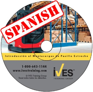 Intro to Narrow Aisle Forklifts Spanish DVD