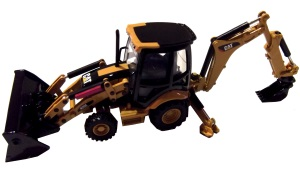 CAT 420E Backhoe Loader Model 1