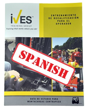 Counterbalanced Forklift Study Guide Spanish image