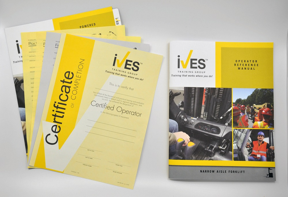 Narrow Aisle Forklift Compliance Package