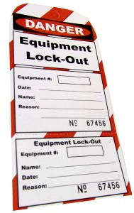 Lock-Out Tags (Box of 25) 1