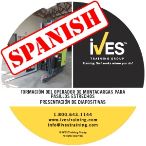Narrow Aisle Forklift Slide Presentation Spanish
