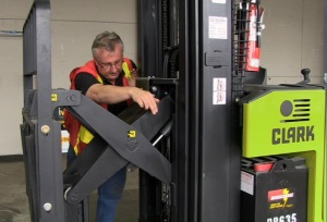 Intro to Narrow Aisle Forklifts DVD 4