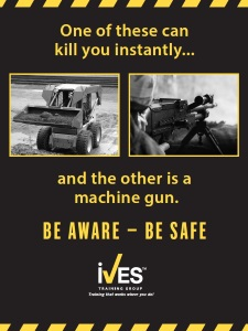 Skid Steer Loader Trainer Power Pack Safety Poster