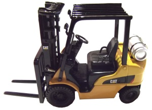 CAT P5000 CB Forklift Propane Model