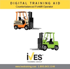 Counterbalanced Forklift Trainer Power Pack Digital Training Aid