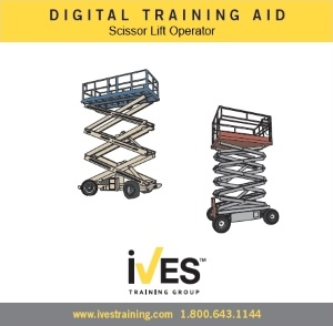 Scissor Lift Digital Training Aid *Internet