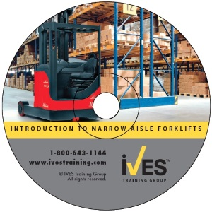 Intro to Narrow Aisle Forklifts DVD image