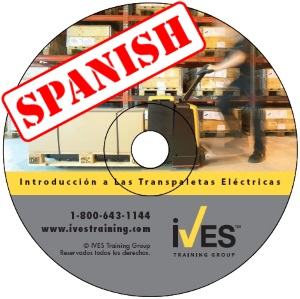 Intro to Powered Pallet Trucks Spanish DVD