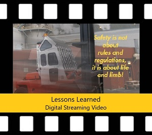 Counterbalanced Forklift Trainer Power Pack DVD Lessons Learned
