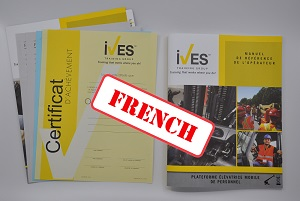 Aerial Lifts Compliance Package French