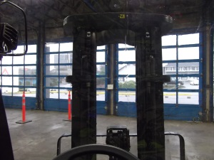 Atrium Full Forklift Enclosure up to 6,000 lbs 3