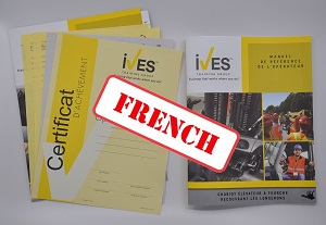 Powered Pallet Truck Compliance Package French