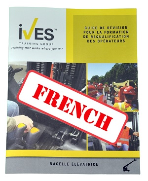 MEWP Boomlift Study Guide French
