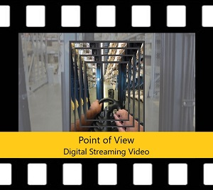Counterbalanced Forklift Trainer Power Pack DVD Point of View