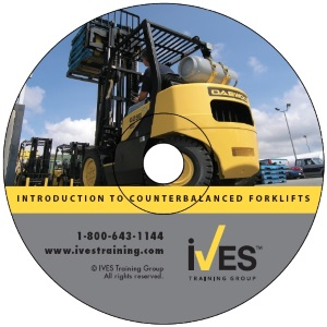 Intro to Counterbalanced Forklifts DVD image
