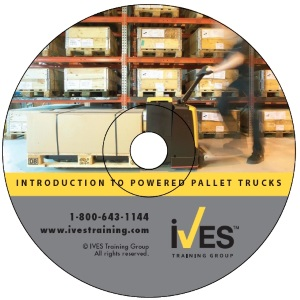 Intro to Powered Pallet Trucks DVD image