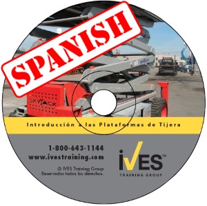 Intro to Scissor Lifts Spanish DVD