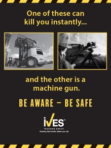 Counterbalanced Forklift Safety Poster