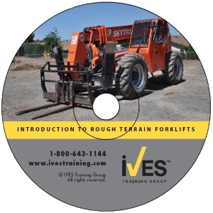 Intro to Rough Terrain Telehandlers DVD