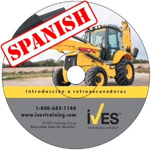 Intro to Loader Backhoes Spanish DVD image