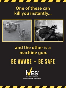 Aerial Boomlift Safety Poster image