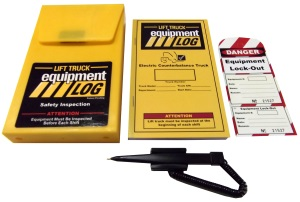 Lift Truck Log - Counterbalanced Electric