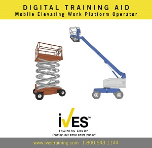 Aerial Lifts Trainer Power Pack Digital Training Aid