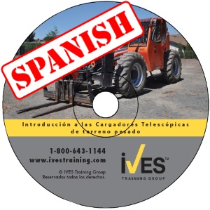 Intro to Rough Terrain Telehandlers Spanish DVD