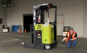 Intro to Narrow Aisle Forklifts DVD 2