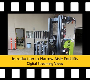 Narrow Aisle Forklift Trainer Power Pack DVD Intro