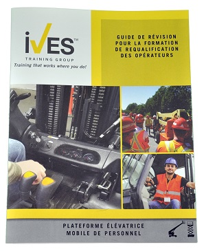 Aerial Lifts Operator Requalification Package French Study Guide