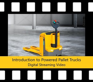 Powered Pallet Truck Trainer Power Pack DVD Intro