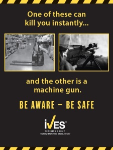 Powered Pallet Truck Safety Poster 183 Ives Training Group
