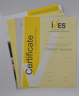 Counterbalanced Forklift Compliance Package 183 Ives