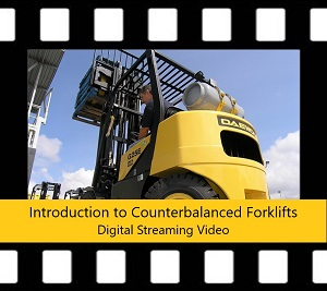 Counterbalanced Forklift Trainer Power Pack DVD Intro