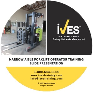 Narrow Aisle Forklift Trainer Power Pack Forklift Slide Presentation