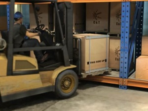 Forklifts - Reducing Product Damage DVD scrn 3
