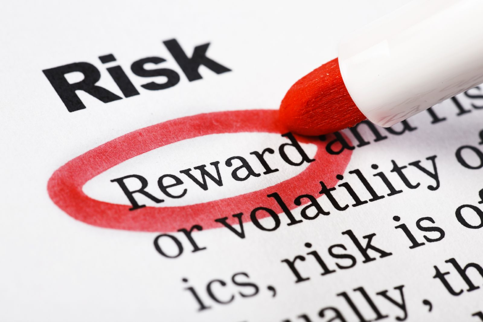 investment risk and reward ives training group